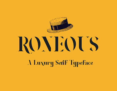 RONEOUS Free Font