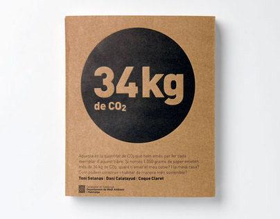 34Kg of CO2