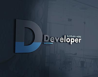 D Letter Logo - Developer Logo
