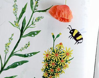 Illustration for Świerszczyk magazine (Nowa Era)