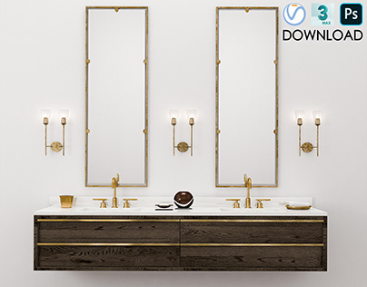 Double Vanities - Restoration Hardware