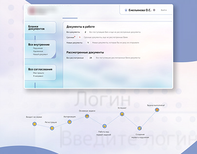 Service for working with documents