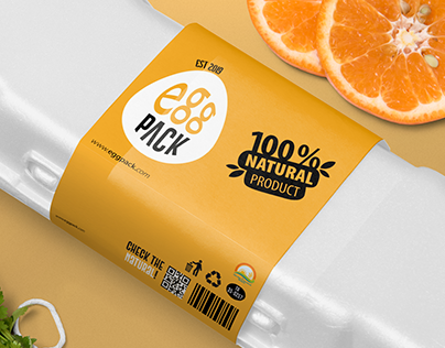 EggPack Packaging and Logo Design