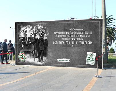 Giresun Belediyesi 24 Kasım Öğretmenler Günü Çalışması