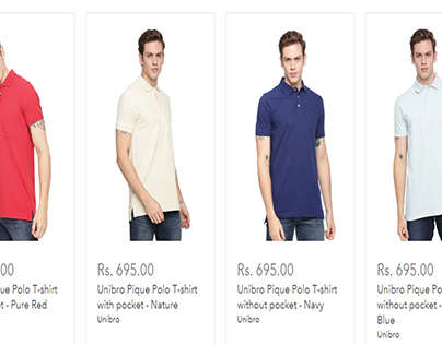 Buy Men's T-shirts Online at India's Best Fashion Store