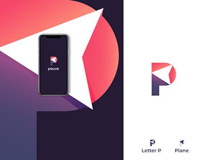 Pauve (plan + letter p) Branding Guideline