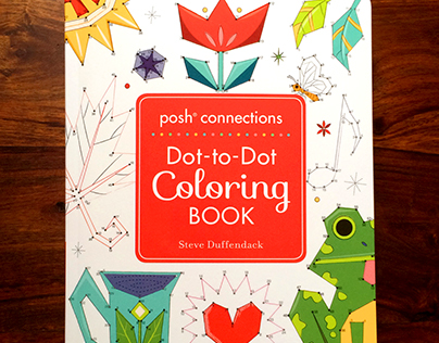 Connections: Dot-to-Dot Coloring Book