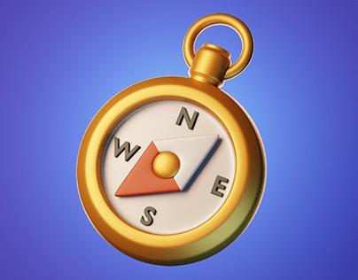 3d game icon set.