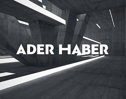 Ader Haber branding