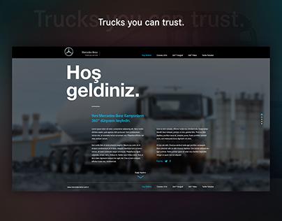 Mercedes-Benz | Truck Website Design
