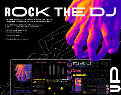 ROCK THE DJ Infographic design