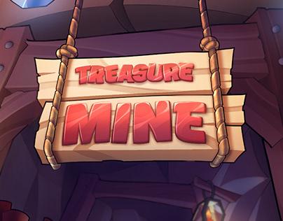 TREASURE MINE - Casual game