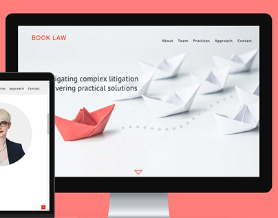 Book Law - Website, Email and PowerPoint Template