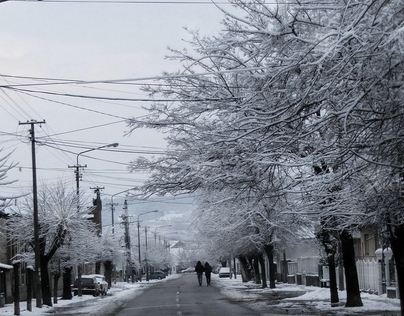 winter in my town