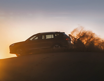 SEAT Tarraco Surfing in the Desert