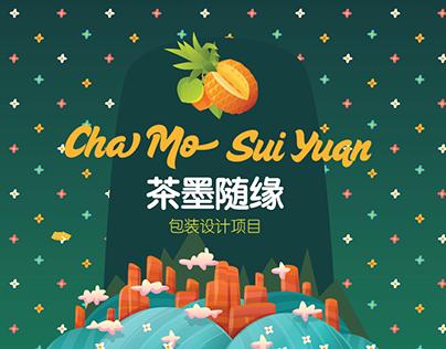 Cha Mo Sui Yuan Package Design