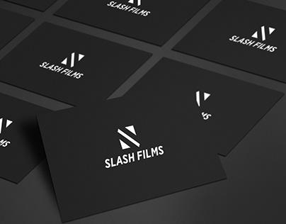 Slash Films Logo Design