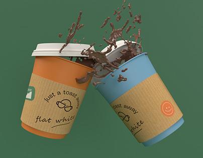 CardboardCafe - Branding Project