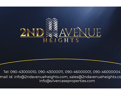 2ND AVENUE HEIGHTS Promo
