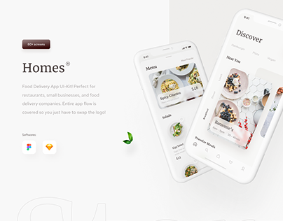 Homes - Food Delivery App