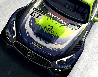 SRC Squadra Corse Liveries - Mercedes AMG GT3