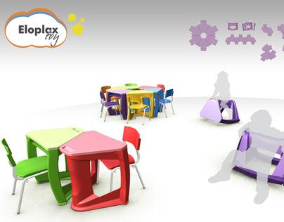 Eloplax toy - Mesa Escolar