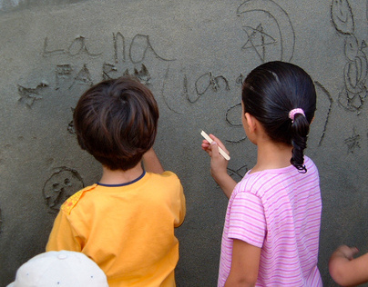 Daycare Center Graffiti Party