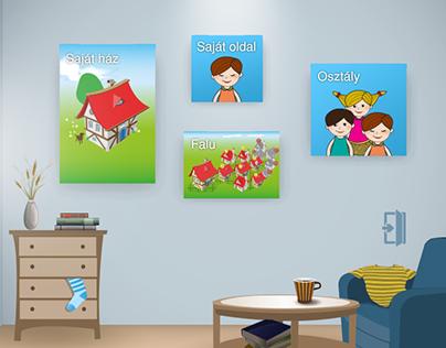 App design - e-learning
