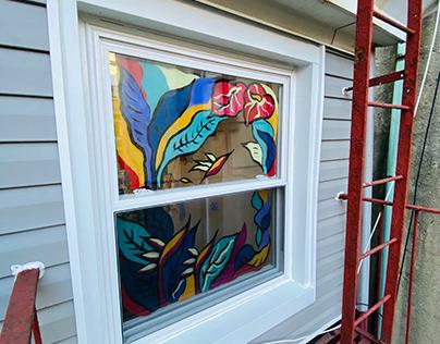 Window Painting Workshop