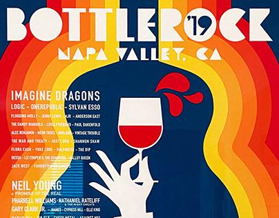 2019 Bottlerock Festival poster