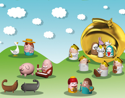 Cartoon Alessi Christmas 2012