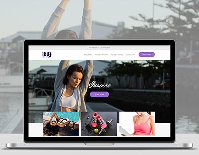 180 FitSpa Website