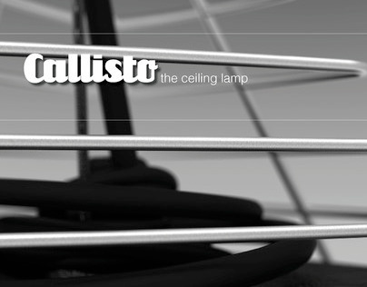 Callisto: the ceiling lamp