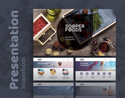 SOOPERFOODS presentation design