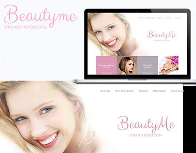 UI/UX design BeautyMe