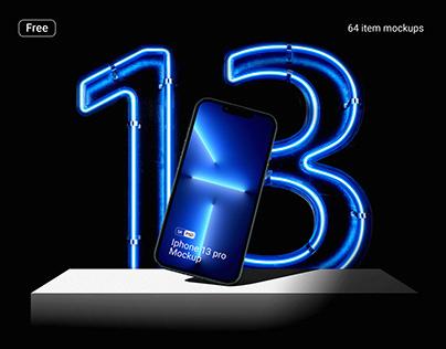 Free iphone 13 pro mockups