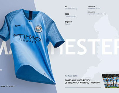 Manchester City FC Home Page
