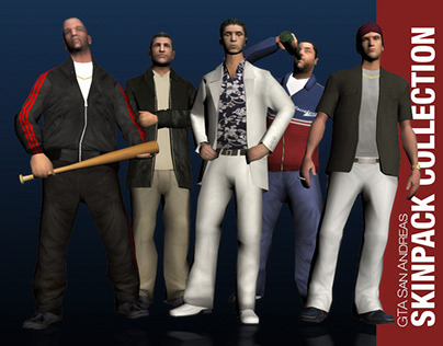 Grand Theft Auto San Andreas - Skinpack Collection
