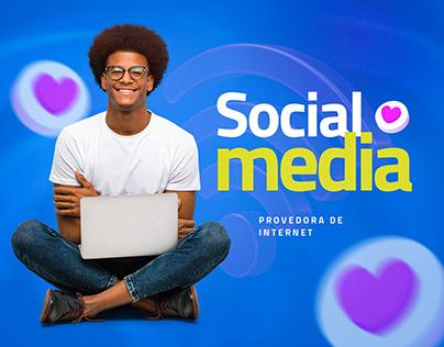 Social Media - Provedora de Internet