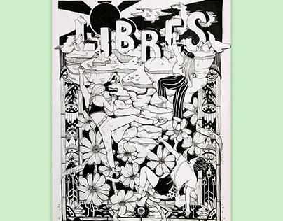 Parcours (Illustration, Noir et blanc)