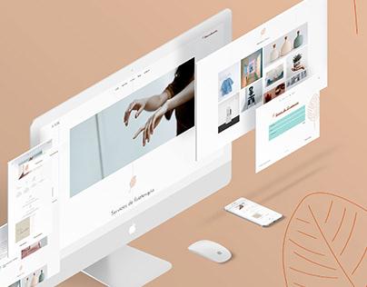 Diseño web A Man Fisioterapia