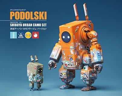 PODOLSKI Prototype ポドルスキのプロトタイプ