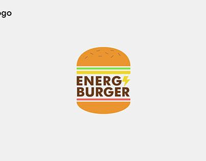 Brand concept Energy Burger