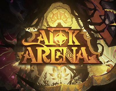 """""""AFK Arena"""" stylized opening animation"""