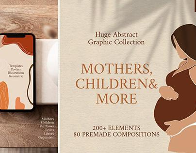 Abstract Graphic Bundle - Modern Art