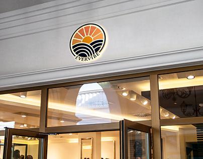 shop logo, branded logo design;