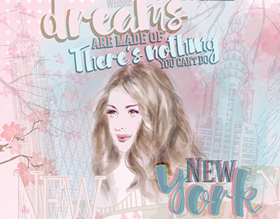New York Dreams! Cities Project. Illustrations