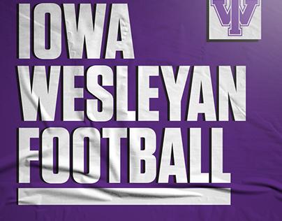 Iowa Wesleyan Football Freelance Work