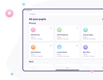Friendly Plans –app for autism therapists