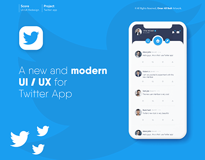 Twitter App - UI/UX Redesign